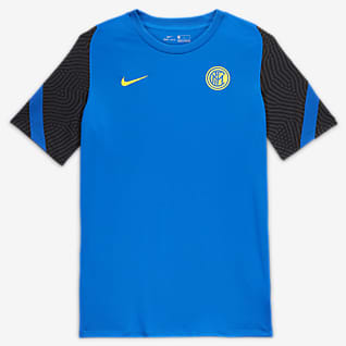 Inter Milan Strike Men's Short-Sleeve Football Top