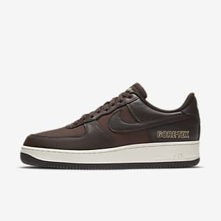 air force 1 basse marroni