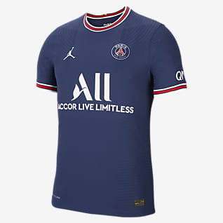 Equipamento principal Match Paris Saint-Germain 2021/22 Camisola de futebol Nike Dri-FIT ADV para homem