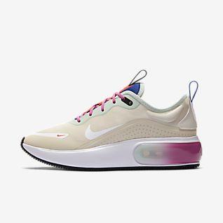 Köpa Bäst Dam Nike Air Max 90 EM ID Blå Grön Vit Sko