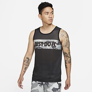 ナイキ Dri-FIT メンズ カモ グラフィック トレーニング Tシャツ