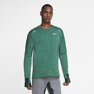 Nike Sphere Męska bluza do biegania z półokrągłym dekoltem