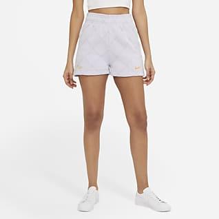 Nike Sportswear Shorts de tejido Fleece para mujer