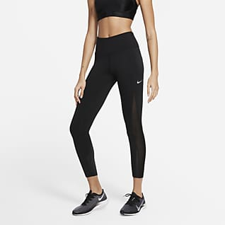 Nike Epic Luxe Cool Leggings da running a 7/8 a vita media - Donna