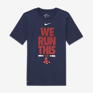 Nike (MLB Boston Red Sox) Playera para niño talla grande
