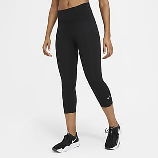 Nike One Leggings capris de cintura normal para mulher