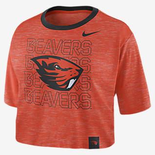 Nike College (Oregon State) Women's Crop T-Shirt