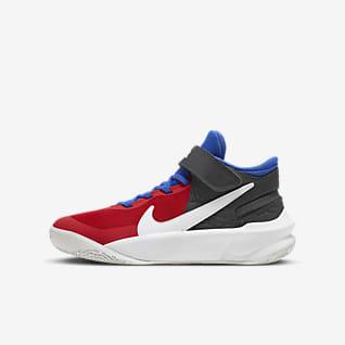 Nike Team Hustle D 10 FlyEase Basketsko för ungdom