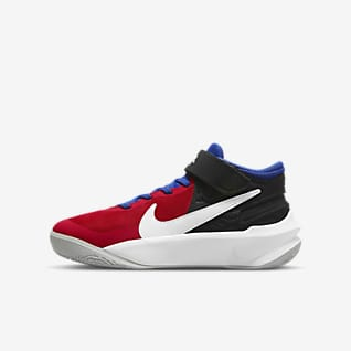 Nike Team Hustle D 10 FlyEase Older Kids' Basketball Shoe