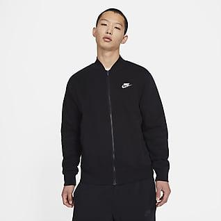 Nike Sportswear Club Fleece Erkek Bomber Ceket