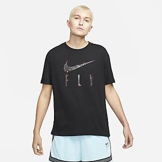 Nike Dri-FIT Swoosh Basketbalshirt voor dames