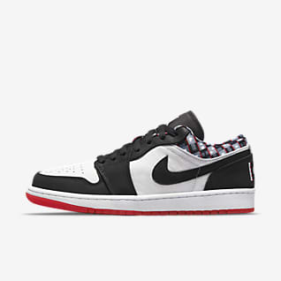 Air Jordan 1 Low Quai 54 Herrenschuh