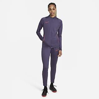 Nike Dri-FIT Academy Stickad fotbollstracksuit för kvinnor
