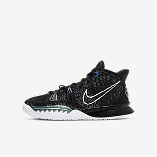 Kyrie 7 Basketsko til store barn