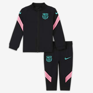 F.C. Barcelona Strike Baby Football Tracksuit