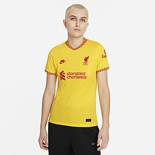 Terceiro equipamento Stadium Liverpool FC 2021/22 Camisola de futebol Nike Dri-FIT para mulher