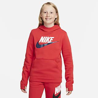 Nike Sportswear Club Fleece 大童(男孩)套头连帽衫