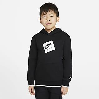 Jordan Jumpman Air Pullover-hættetrøje til mindre børn