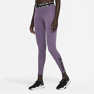 Nike Pro Dri-FIT Leggings con gráficos de tiro medio para mujer