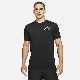 "Nike Dri-FIT Wild Run ""Globey"" Camiseta de running de manga corta para hombre"
