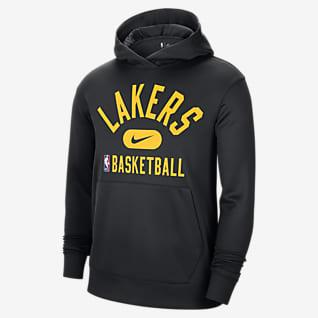 Los Angeles Lakers Spotlight Nike NBA-hoodie met Dri-FIT voor heren