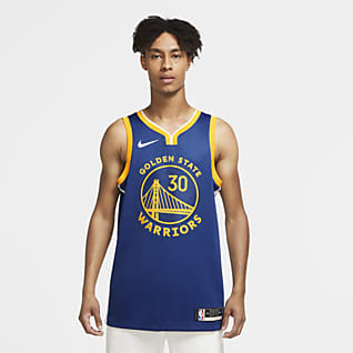 2020 赛季金州勇士队 (Stephen Curry) Icon Edition Nike NBA Swingman Jersey 男子球衣