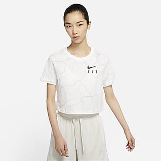 Nike Swoosh Fly 女子短款篮球T恤