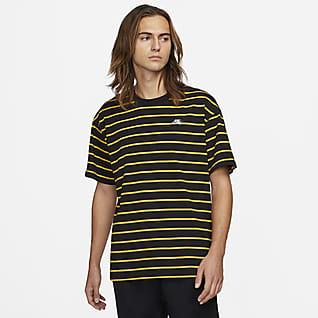 Nike SB T-shirt w paski do skateboardingu