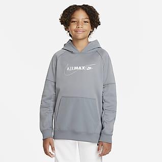 Nike Sportswear Air Max Felpa pullover in fleece con cappuccio - Ragazzo