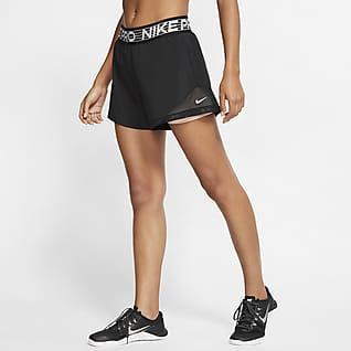 Nike Pro Flex Calções 2 em 1 para mulher
