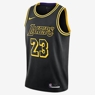LeBron James Lakers Maillot Nike NBA Swingman