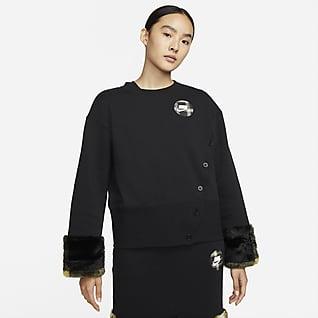 Nike Sportswear Women's Fleece Print Crew Sweatshirt
