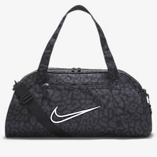 Nike Gym Club Dámská tréninková sportovní taška s potiskem