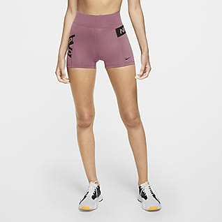 Nike Pro Damenshorts mit Grafik