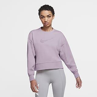Nike Dri-FIT Get Fit Damska bluza treningowa z logo Swoosh