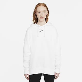 Nike Sportswear Essential Collection Женская флисовая худи оверсайз