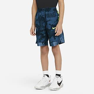 Nike Dri-FIT Elite Shorts estampados para niños talla pequeña