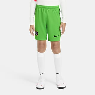 Chelsea F.C. 2020/21 Stadium Goalkeeper Older Kids' Football Shorts