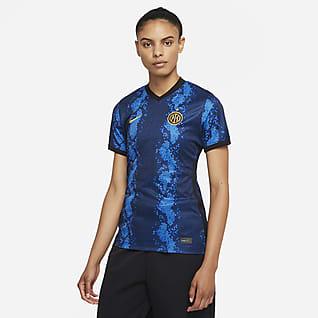 Inter Milan 2021/22 Stadium Domicile Maillot de football Nike Dri-FIT pour Femme