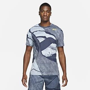Nike Dri-FIT Playera de entrenamiento con estampado para hombre