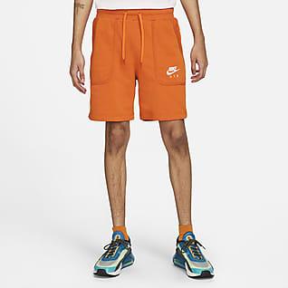 Nike Air Pánské kraťasy zfrancouzského froté