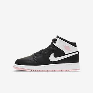 Air Jordan 1 Mid Sko til store barn