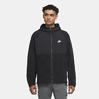 Nike Sportswear Hoodie com fecho completo para homem