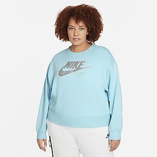 Nike Sportswear Club Women's Fleece Sweatshirt (Plus Size)