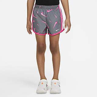 Nike Dri-FIT Tempo Shorts estampados para niños talla pequeña