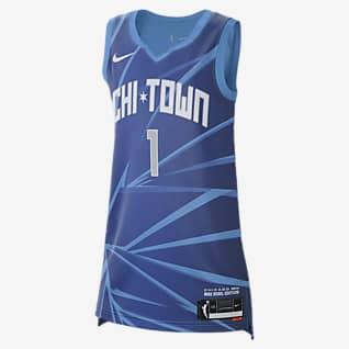 Diamond DeShields Sky Rebel Edition Nike Dri-FIT WNBA Victory Jersey
