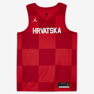 Croatia Jordan (Road) Limited Men's Basketball Jersey