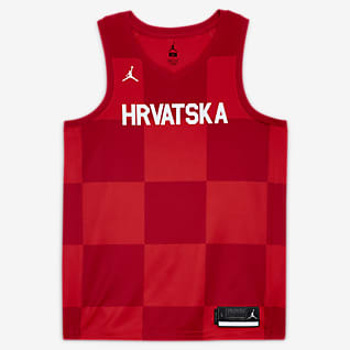 Segunda equipación Croacia Jordan Limited Camiseta de baloncesto - Hombre