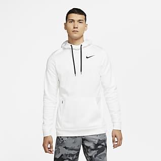 Nike Therma Sudadera con capucha de entrenamiento sin cierre para hombre