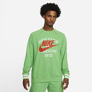 Nike Sportswear Tröja med rund hals i frotté för män
